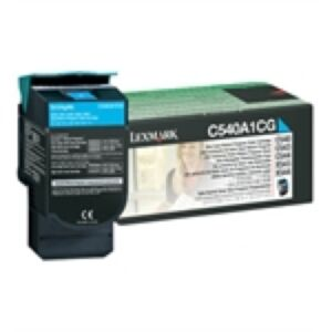 Lexmark C540A1CG Cyan Lasertoner Original