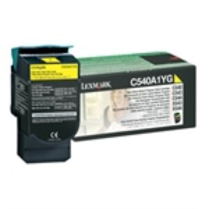 Lexmark C540A1YG Yellow Lasertoner Original