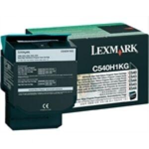 Lexmark C540H1KG Sort Lasertoner HC Original
