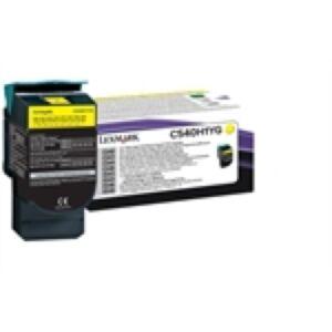 Lexmark C540H1YG Yellow Lasertoner HC Original