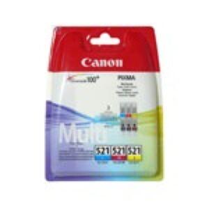 Canon CLI-521 MultiPakke CMY blæk Original