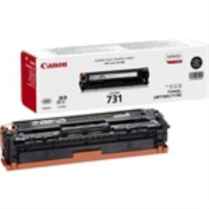 Canon 731BK Sort Toner Original