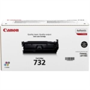 Canon 732 Sort Lasertoner Original