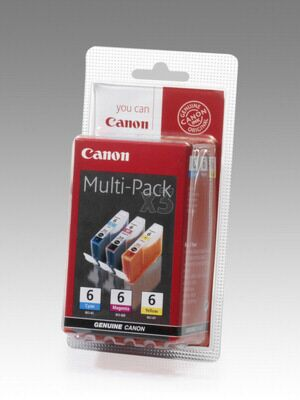 Canon BCI-6 Value Pack C/M/Y Original