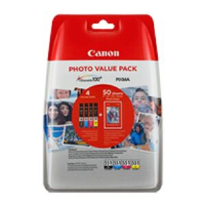 Canon CLI-551XL Value Pack BK/C/M/Y Original