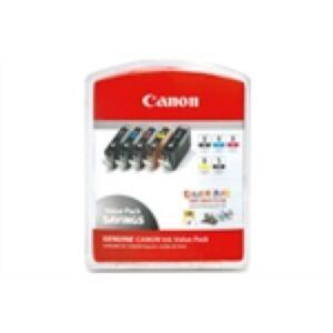 Canon CLI-8 Pakke BK/PC/PM/R/G Original