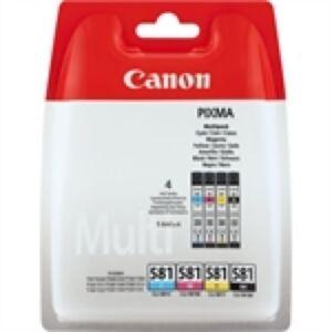 Canon CLI-581 Multi Pack BK/C/M/Y Original