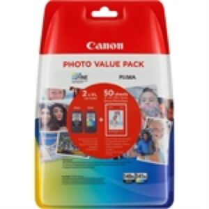 Canon PG-540XL & CL-541XL Multipack + Paper
