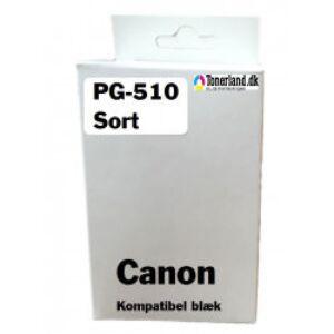 Canon 510 Sort Blækpatron PG-510 kompatibel