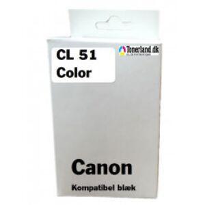 Canon CL-51 Farve Blækpatron kompatibel