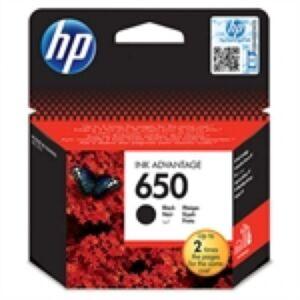 HP No.650 BK Printerpatron CZ101AE Original