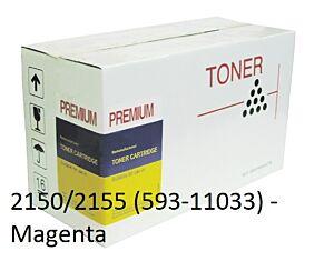 Dell 2150/2155 Magenta Toner Kompatibel
