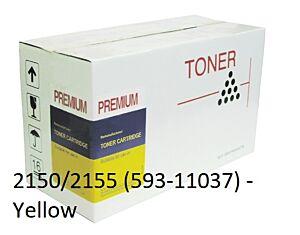 Dell 2150/2155 Yellow Toner Kompatibel