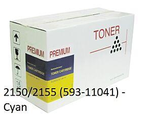 Dell 2150/2155 Cyan Toner Kompatibel