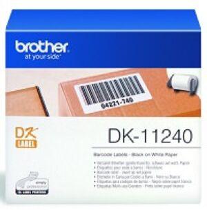 Brother DK11240 Stregkode etiketter 102x50mm