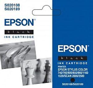Epson T051140 Sort Blækpatron Original