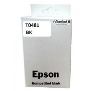 Epson T0481 Sort Blæk kompatible