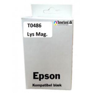 Epson T0486 Lys Magenta Blæk kompatible