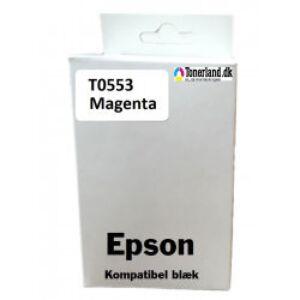 Epson T0553 Magenta blæk kompatibel