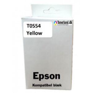 Epson T0554 Gul blæk kompatibel