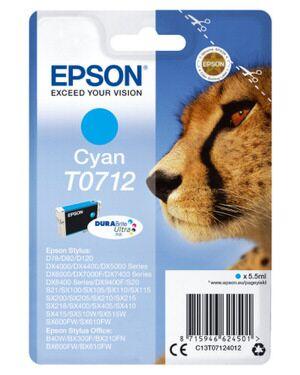 Epson T0712 Cyan Printerpatron Original