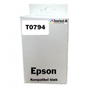 Epson T0794 Yellow Blækpatron kompatibel