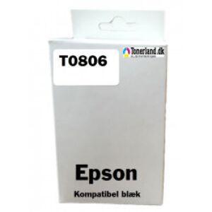 Epson T0806 Light Magenta Blækpatron kompatibel