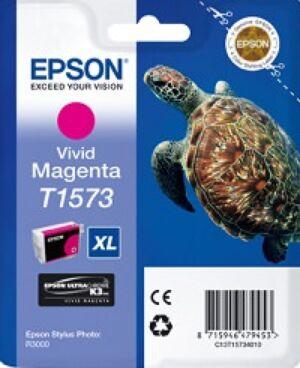 Epson T1573 Magenta Blækpatron Original