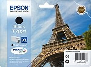 Epson T7021 XL Sort Blækpatron Original