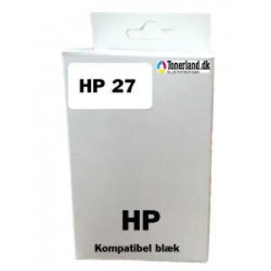 HP 27 Sort Blækpatron kompatibel