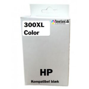 HP 300XL Color Blækpatron Kompatibel