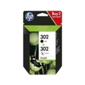 HP 302 Combi Pack - 2 printerpatroner Original
