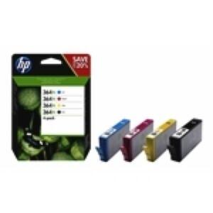 HP 364XL Sampak printerpatroner Original