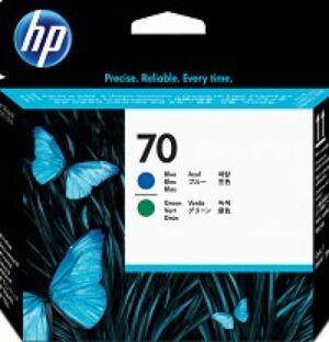 HP 70 Blå & Grøn Printhead Original