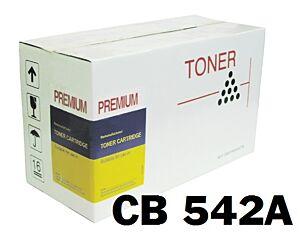 HP CB542A Gul Toner Kompatibel