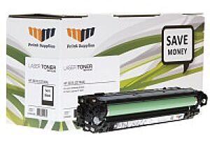 HP CE740A / 307A Sort Toner Kompatibel