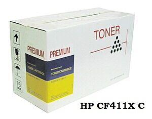 HP CF411X toner Cyan- Kompatibel