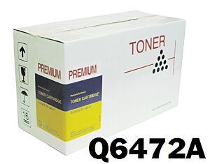 HP Q6472A / 502A Gul Toner Kompatibel