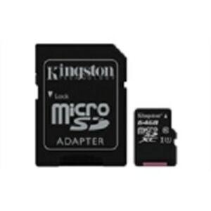 Kingston MicroSDHC 64GB CL10 + Adapter