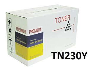 Brother TN230Y Gul toner Kompatibel