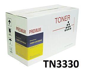 Brother TN3330 Sort Toner Kompatibel