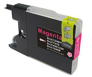 Brother LC1240M Magenta printerpatron Kompatibel