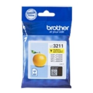 Brother LC3211Y Yellow Printerpatron Original