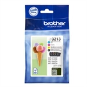 Brother LC3213VALDR Value Pack Original Sampak