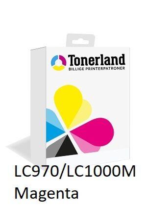 LC970/LC1000M Magenta printerpatron Kompatibel