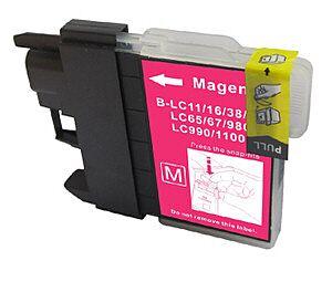 LC980/LC1100M Magenta printerpatron Kompatibel