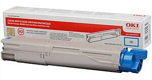 OKI 43459371 Cyan Lasertoner HC Original