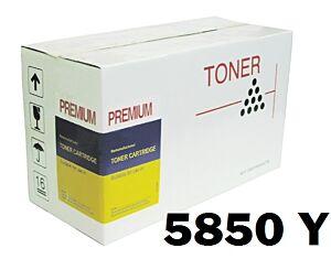 OKI 5850 Gul Toner Kompatibel