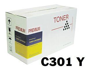 Oki C301 Gul Lasertoner Kompatibel