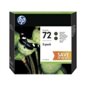 HP No.72 2 x Sort Printerpatron P2V33A Original